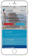 Zakelijke data en telecommunicatie-LanTel-iphone