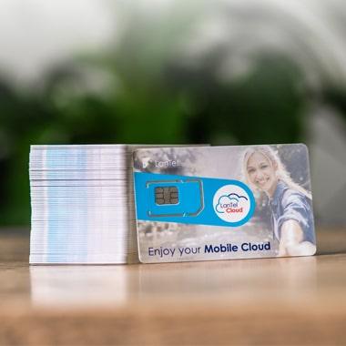 Zakelijke mobiele telefonie met LanTel Mobiel - simkaart