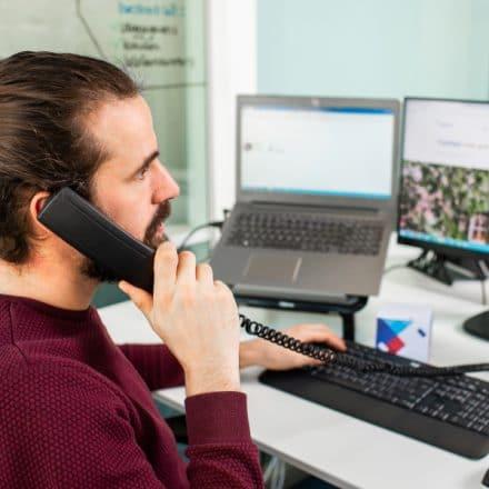 VoIP bellen met een telefooncentrale in de cloud