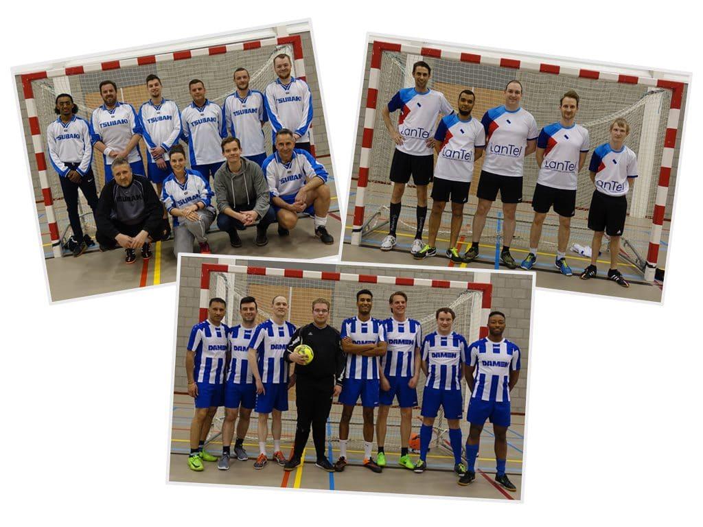 Teams LanTel Zaalvoetbaltoernooi 2018