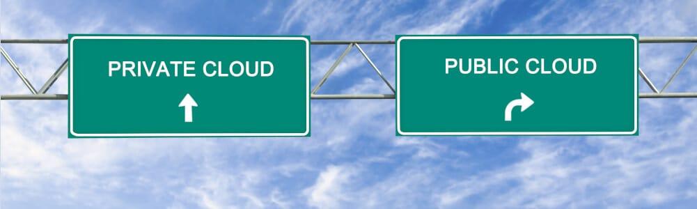 Cloud telefonie in een Private of Public Cloud