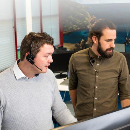Wij zijn LanTel, een team gespecialiceerd in zakelijke telefonie-verloop