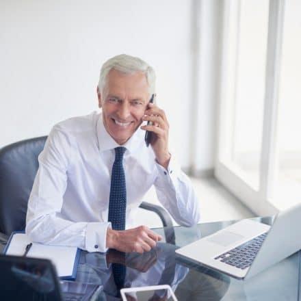 Zakelijke telefonie voor de financiële dienstverlening