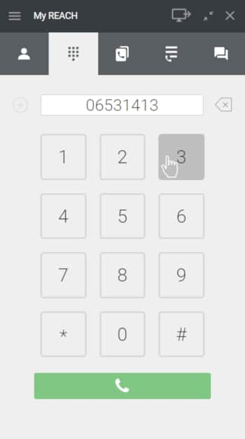 Wat is een softphone - toetsenbord