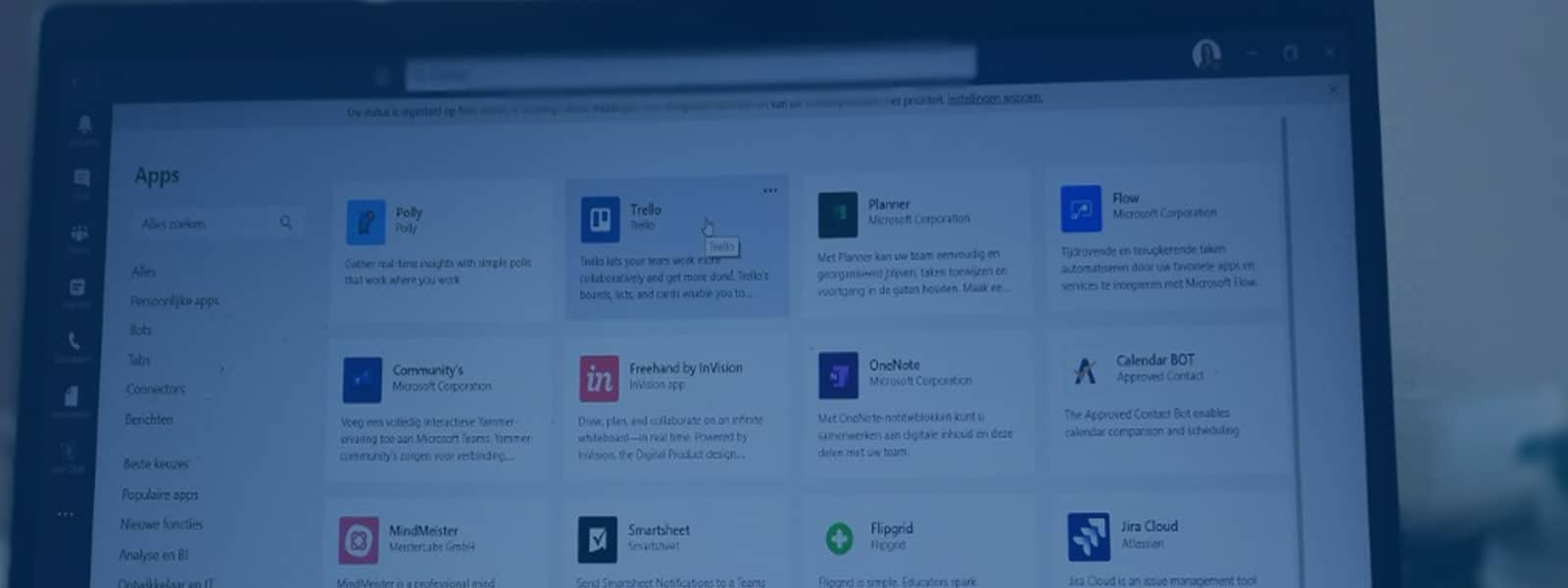 5 handige apps binnen Microsoft Teams