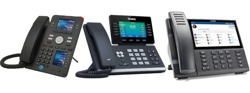 VoIP telefoon van LanTel
